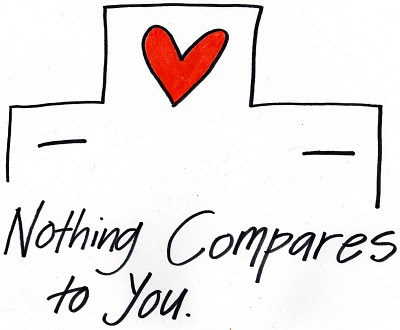 Cover Corner: NOTHING COMPARES TO YOU