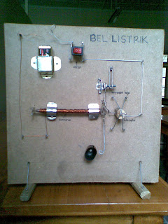 Cara membuat bel listrik sederhana dan alat yang diperlukan