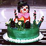 Torta Palhaço