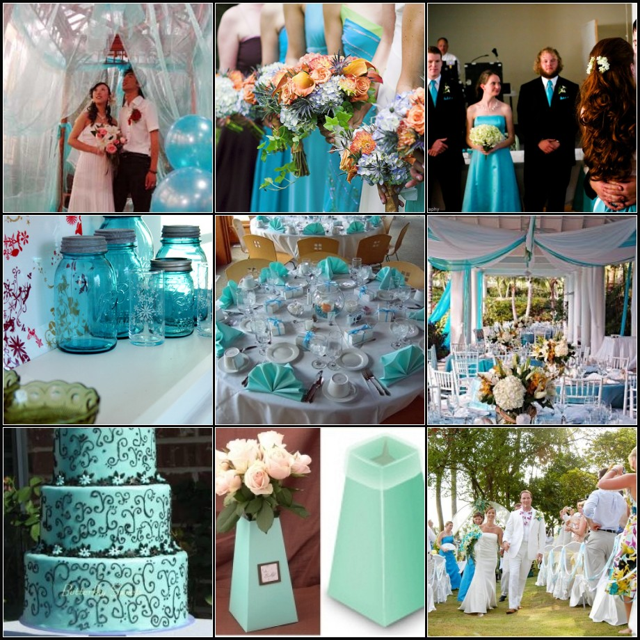 Teal Wedding Ideas For Reception: { Ask Cynthia }: More Colors Of Love