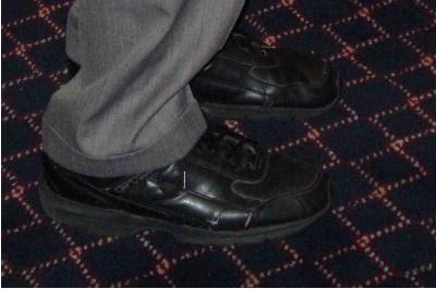 Ron Paul's Shoes