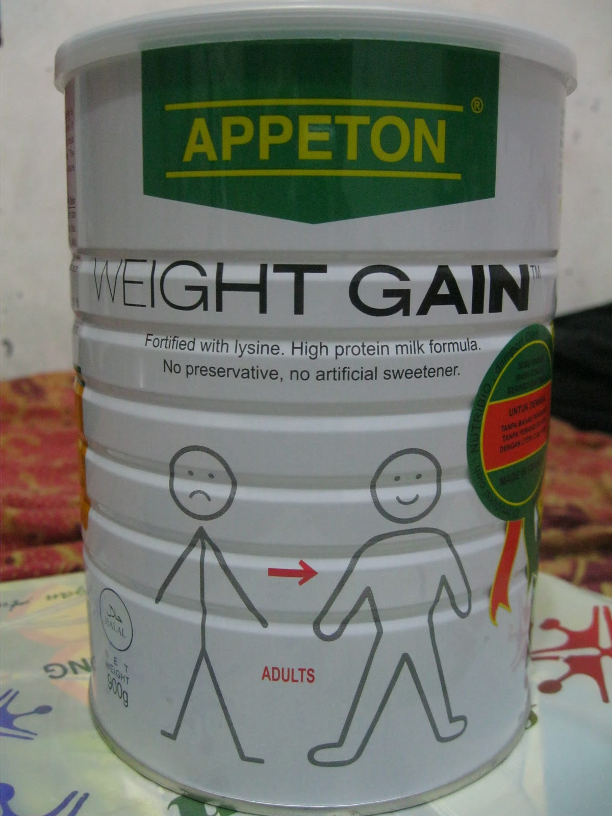 Appeton Weight Gain