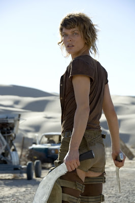 Hots Up Movies Resident Evil Extinction Cast Gets Military Getup