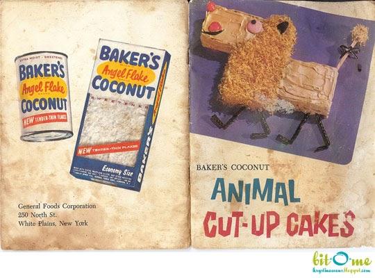 Bit O Me Baker S Coconut Animal Cut Up Cakes