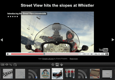 Google Reader Play video screenshot