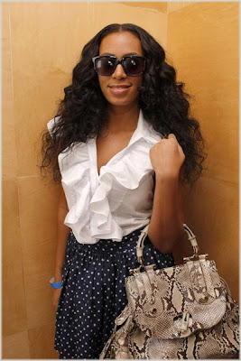 Solange Spotted In Miami