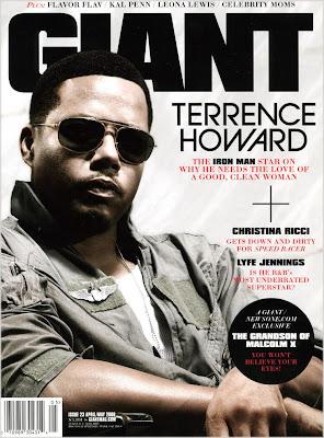 Terrence Howard Covers GIANT Magazine