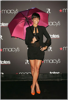 Rihanna Launches Umbrella Range At Macy's
