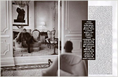 Jay-Z In Vogue Italia's 'All Black Issue''