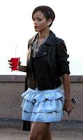 Rihanna & Chris Brown Spotted At KFC
