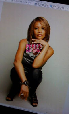Whitney Houston Album Shoot Pics!