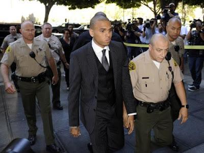 Chris Brown Sentenced To Probabation