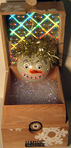 SNOWMAN IN THE BOX