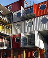Houses Made Out of Containers