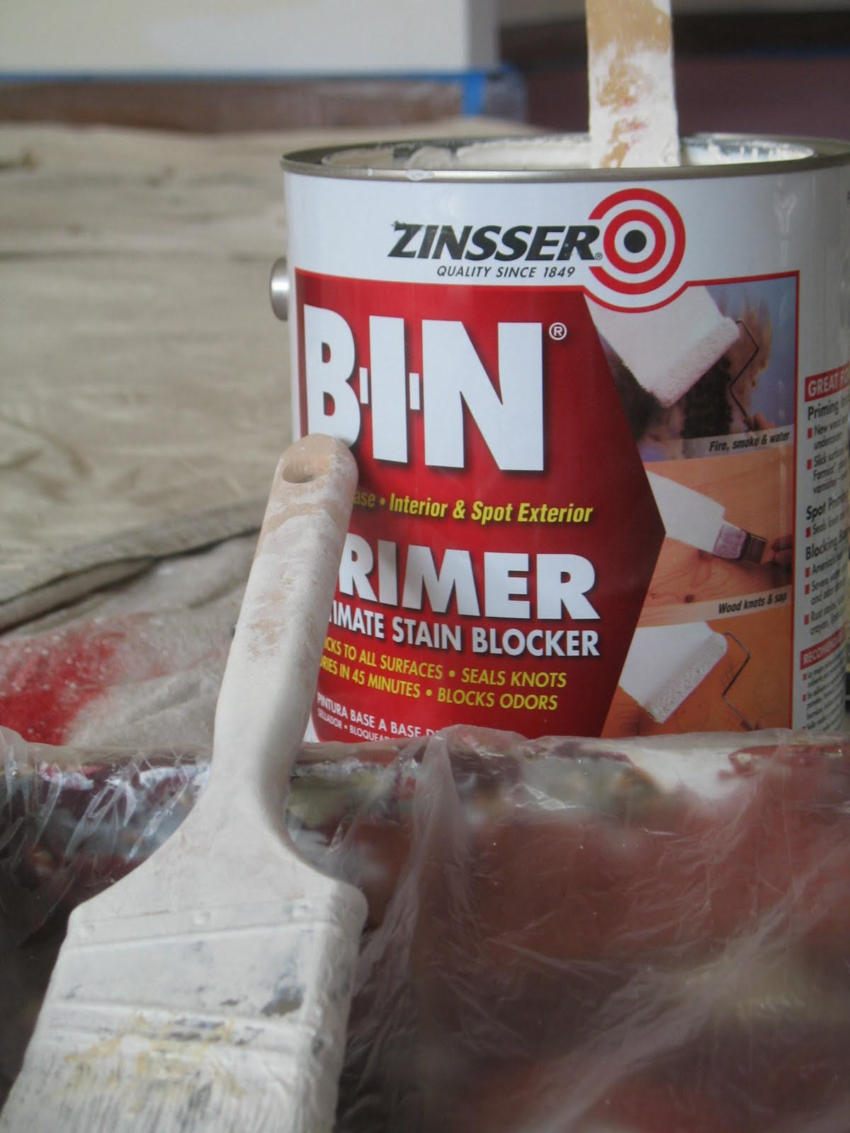 The Chirp Zinsser S Bin Primer Proves Itself Again And