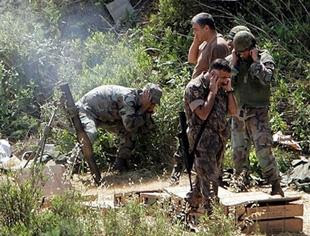 Lebanese army shells refugee camp