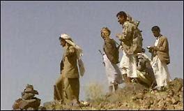 Yemen's al-Qaeda supporters - Yemeni tribesmen