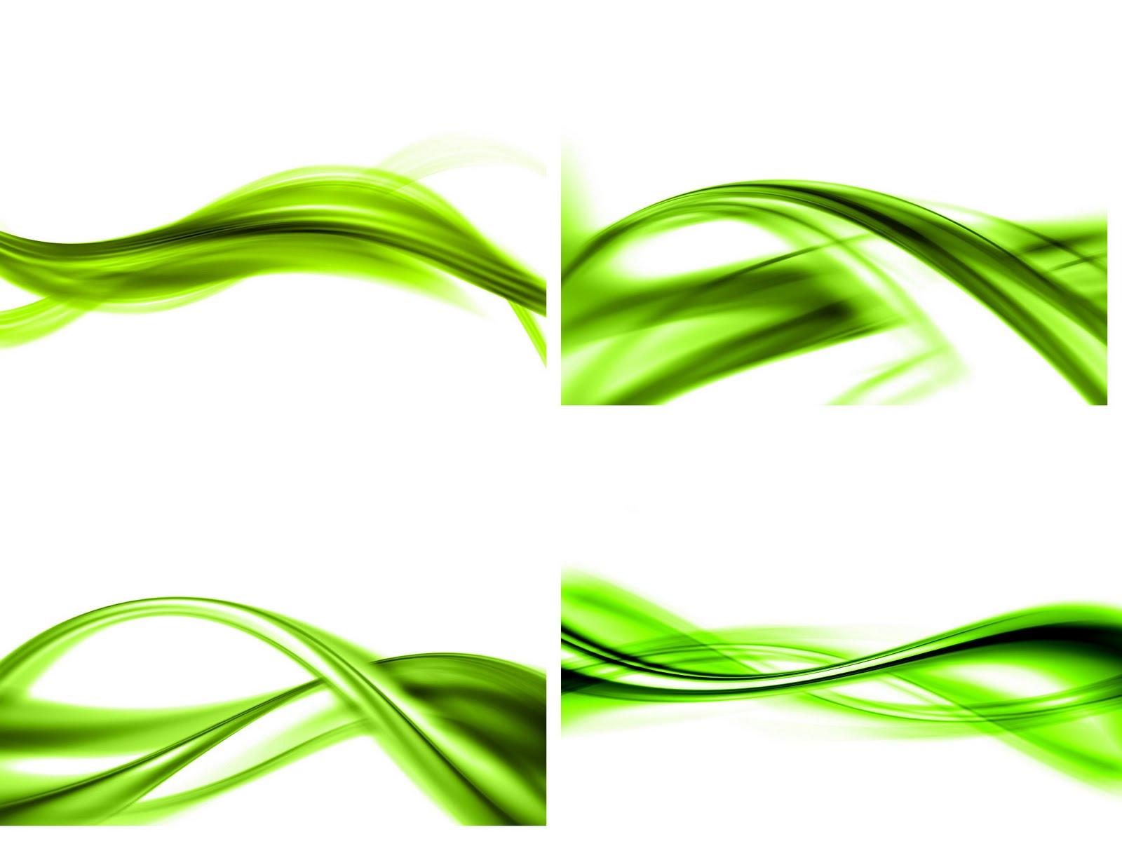 Fondo Blanco Con Verde: Fondos Vectores Blanco