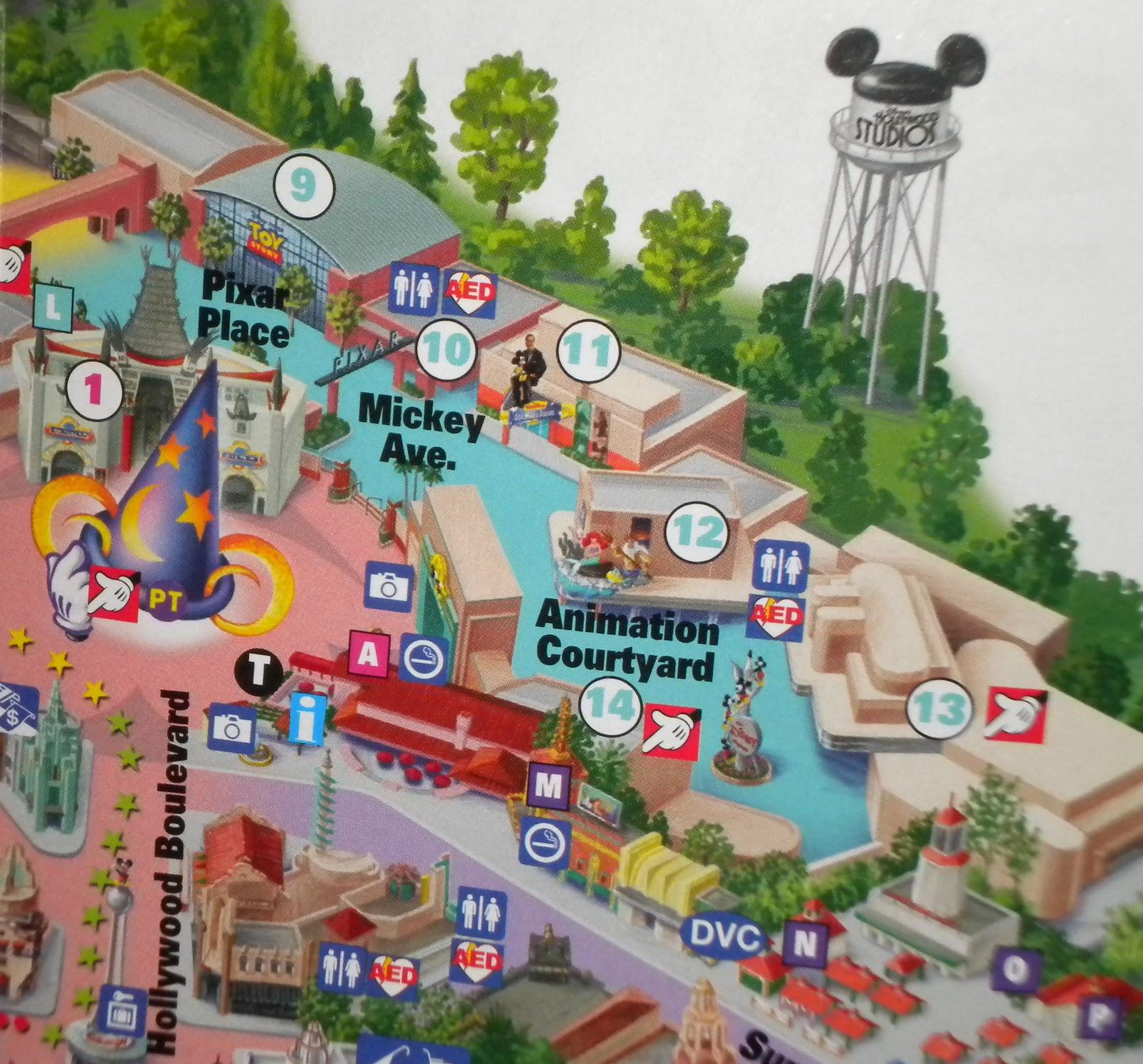 Apartments Near Disney World: Animation Courtyard In Disney Hollywood Studios