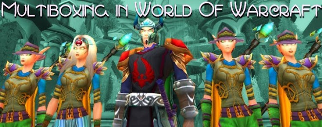 Multiboxing in World of Warcraft
