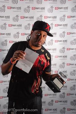 SPOTTED DJ Agile in JUZD Tech shirt at 2009 DJ Stylus Awards Monday night  Streetwear