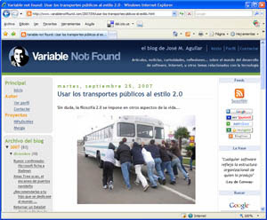 Variable not found