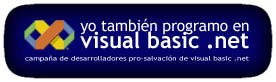 Logo Plataforma pro-salvación de Visual Basic