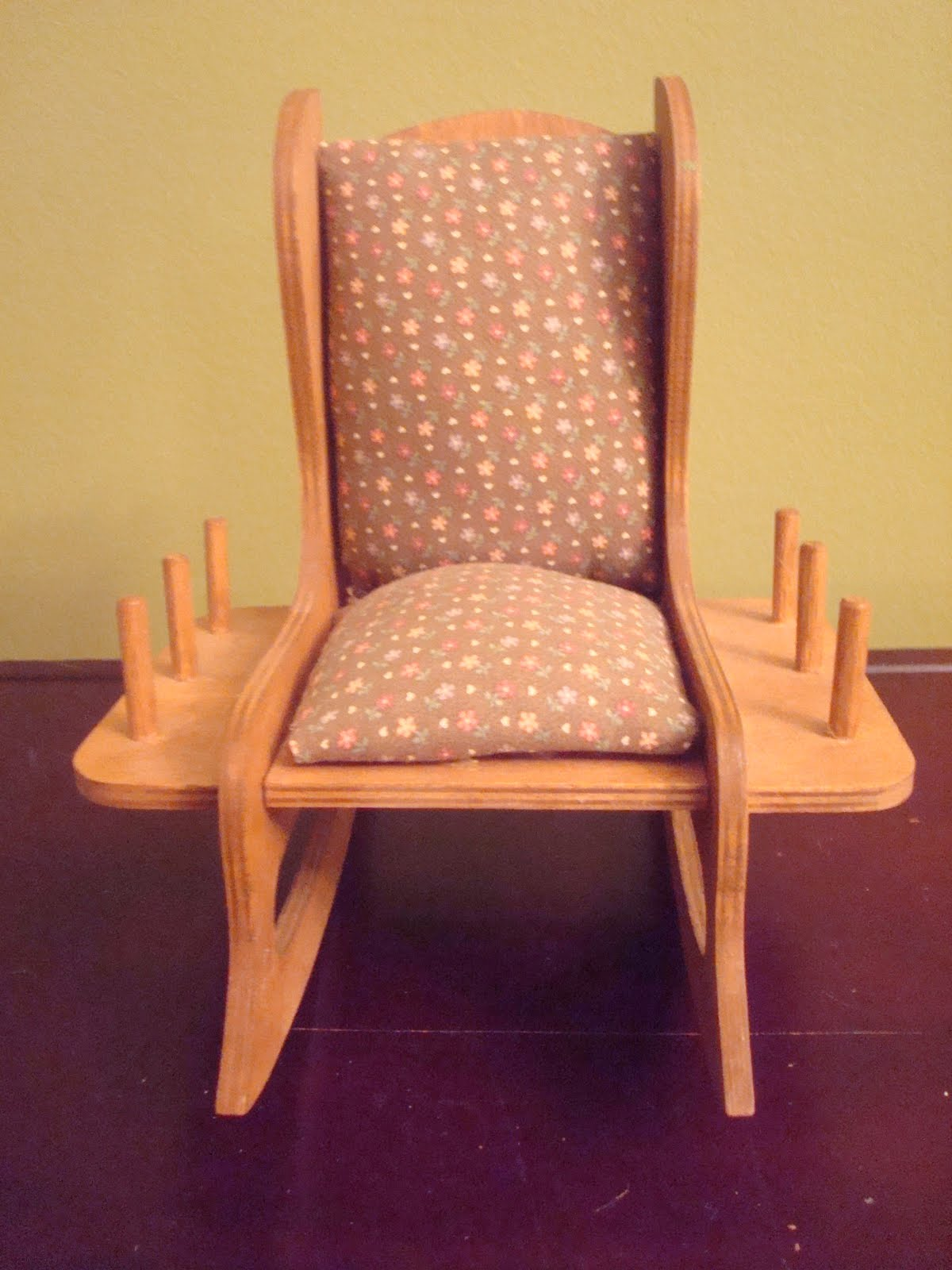 Rocking Chair Cushion Pattern Turquoise Desk Target Thrifty Tickle Pincushion