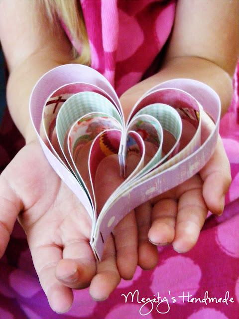 Paper Heart DIY Tutorial