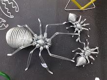 aranhas de arame