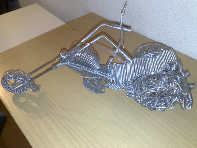 triciclo de arame