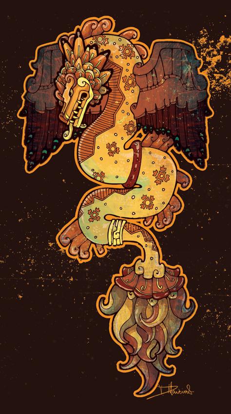 le gravier cosmique  quetzalcoatl 1915
