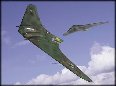El ala volante de la Alemania Nazi. Horten Go 229