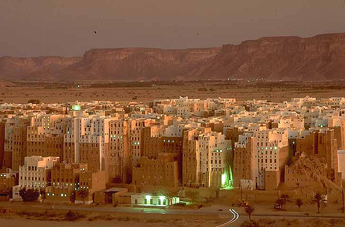 shibam, el Manhattan de Yemen
