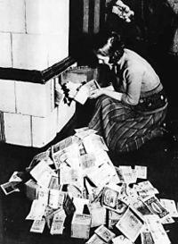 hiperinflacion Weimar