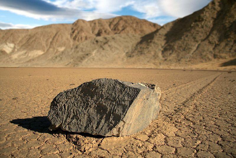 Piedras del Valle de la muerte que se mueven