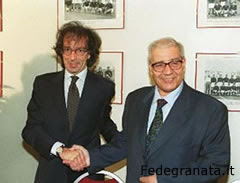 Attilio Romero y Francesco Cimminelli