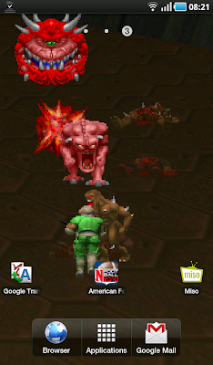 Droyd Cantina: Doom Live Wallpaper Puts Some Gore On Your Android