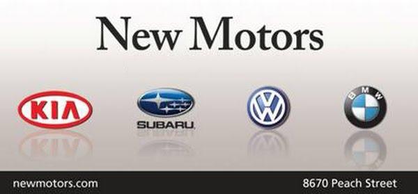 New Motors Subaru Erie Pa >> New Motors Auto Mall