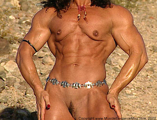 female super muscle morph
