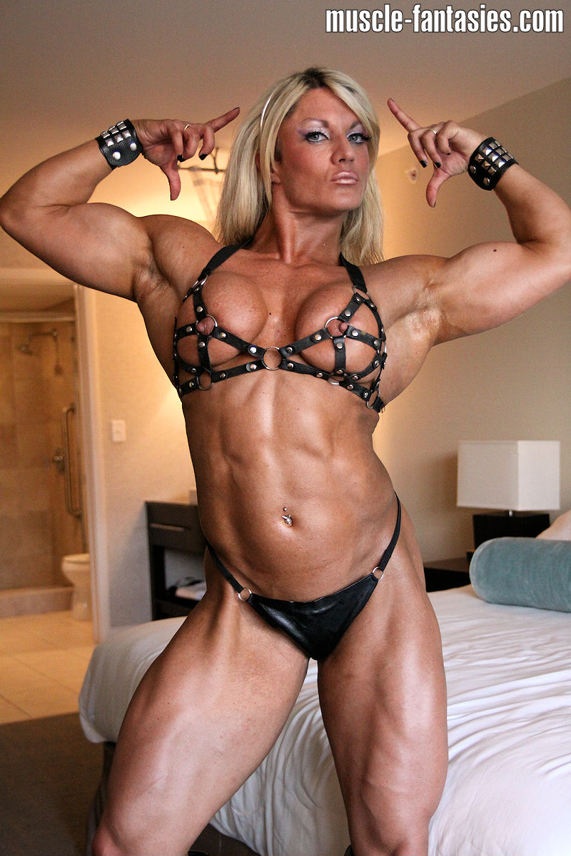 Big Black Muscle Women