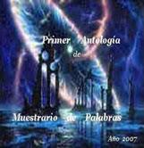 PRIMER ANTOLOGÍA DE MUESTRARIO DE PALABRAS