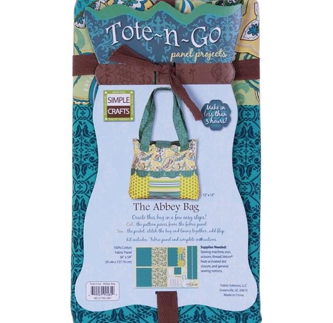 Weekend Kits Blog Fabric Panel Projects Handbag Sewing Kits