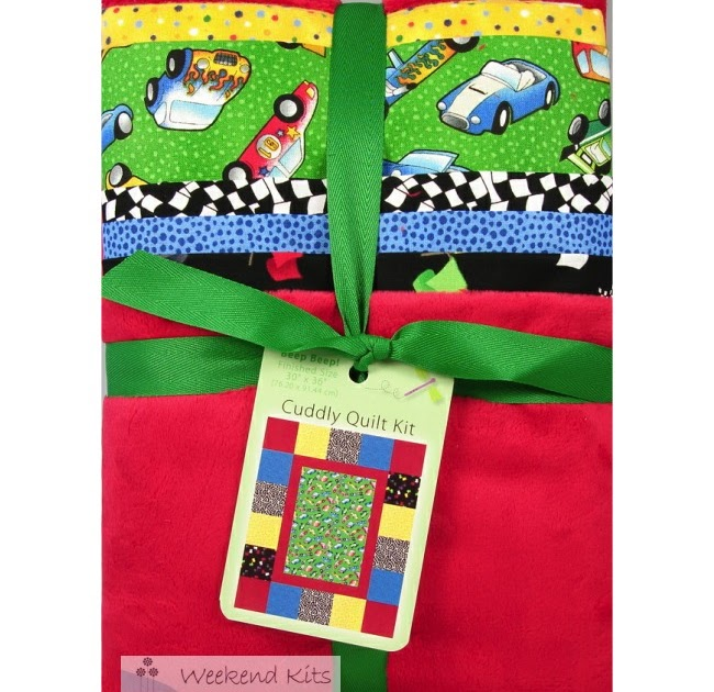 Weekend Kits Blog New Baby Quilt Kits For Beginners