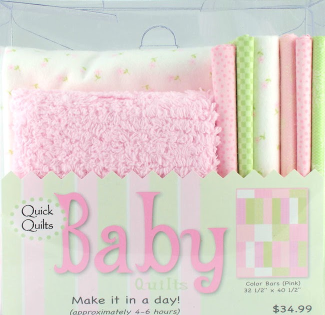 Weekend Kits Blog: Baby Quilt Kits with Soft Chenille Fabric!