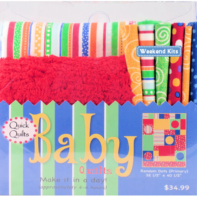 Weekend Kits Blog Easy Baby Quilt Kits Amp Our New Look