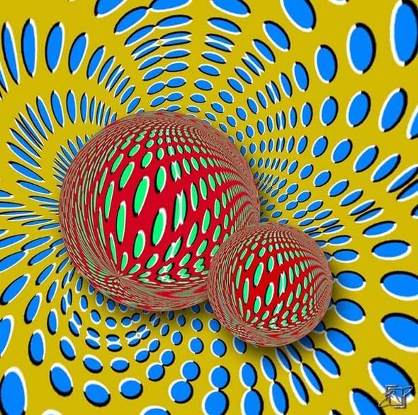 optical illusion illusions moving rollers advanced mind eye eyes kitaoka akiyoshi dr moillusions brain amazing animated magic cool tricks mighty
