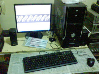 PC with NEW LCD monitor!