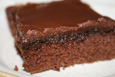 Deep South Dish Tommies Brownies aka Buttermilk Chocolate Texas