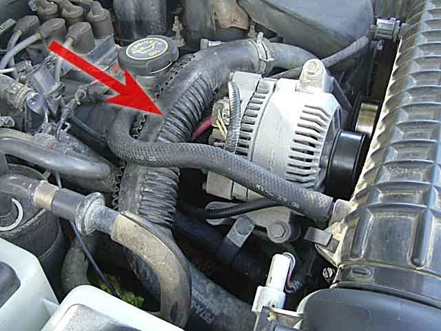 Duae Manus: How To Change a Thermostat on a V6 Ford Ranger